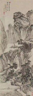 图三十   清王翚《群山雄势图》轴   故宫博物院藏